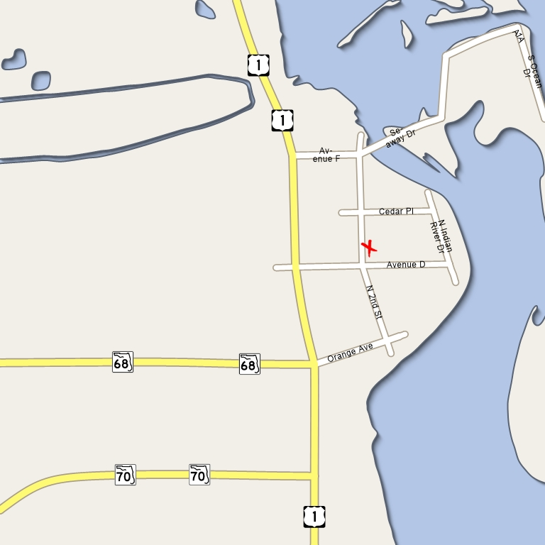 Map Of Fort Pierce Florida.Automatic Generation Of Destination Maps Supplementary Material